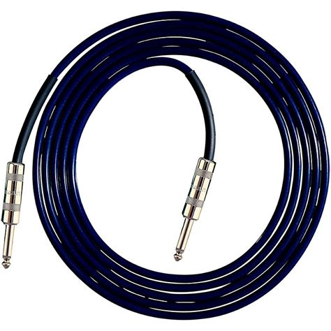 live wire soundhose instrument cable blue 10 ft