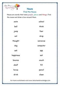 nouns worksheets for grade 3 laptuoso