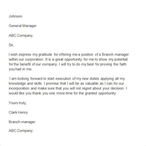 thank you letter after important resignation letter format useful templates