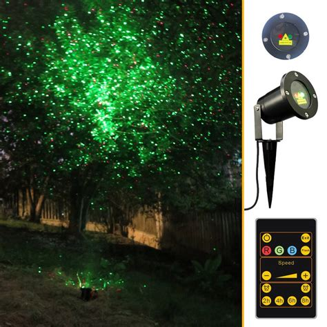 1000 point led projector cordless holiday lights