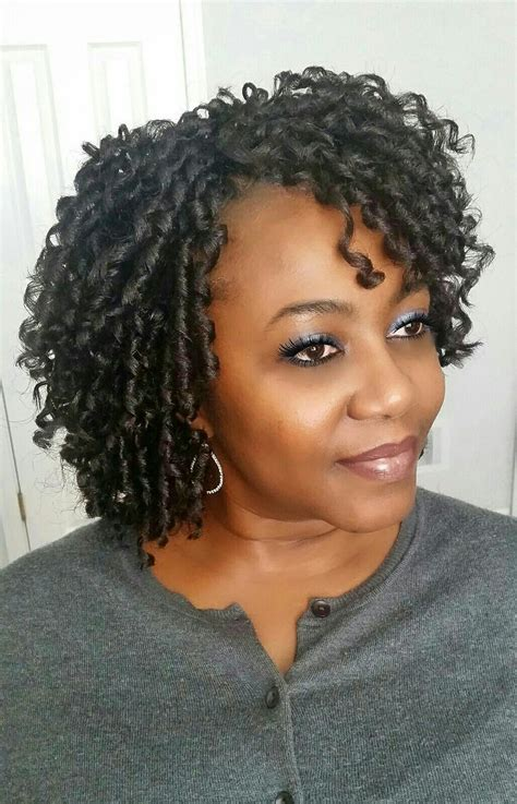 short styles with crochet crochet braids by twana natural hair styles pinterest