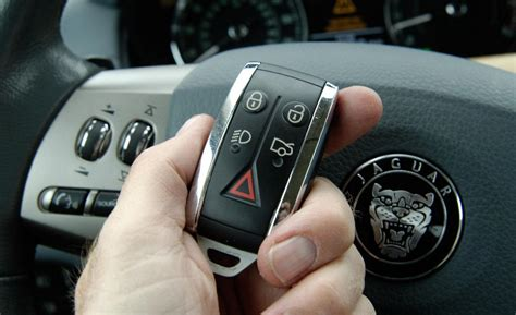 jaguar key fob battery car and driver