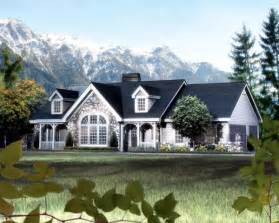 Cottage Style Porch For Ranch Homes by Cape Cod Cottage Country Ranch Victorian House Plan 87808
