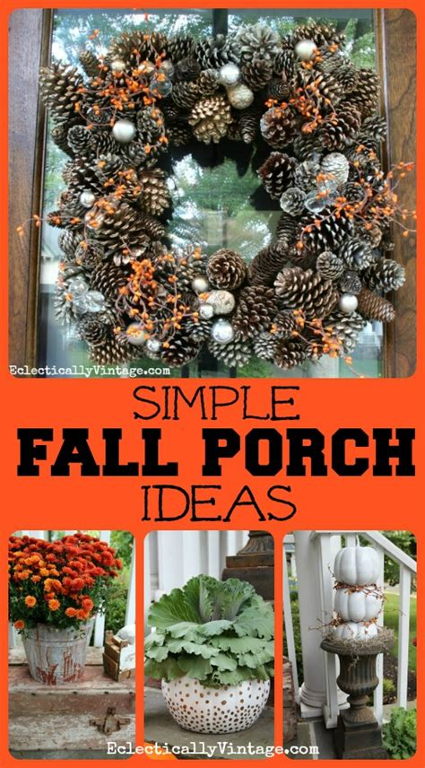 ideas to decorate for fall simple fall porch decorating ideas our home sweet home