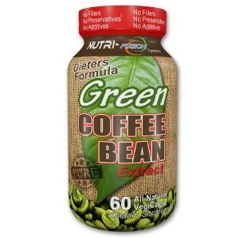 Handle Green Coffee Bean Extract by Nutri Fusion Green Coffee Beans