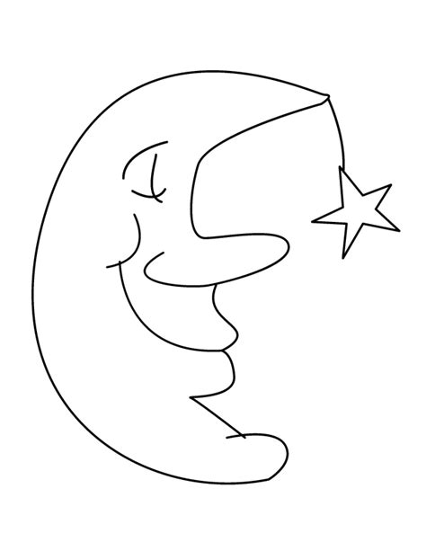 moon coloring page pdf moon sleeping printable coloring in pages for kids