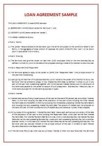 loan contract template beepmunk
