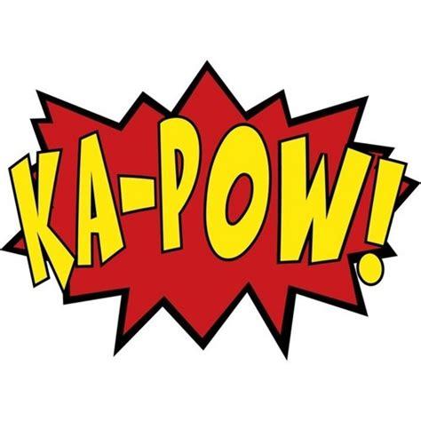pow wall stickers 3 comic sound effects wall decals boom zam ka pow