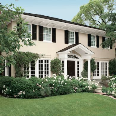 best exterior trim colors cream house with black trim best exterior paint colors