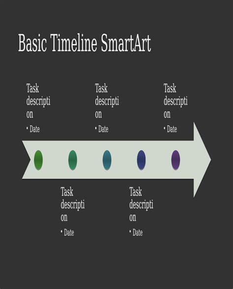Download Business Timeline Smartart Diagram Slide For Free Smartart Timeline Powerpoint