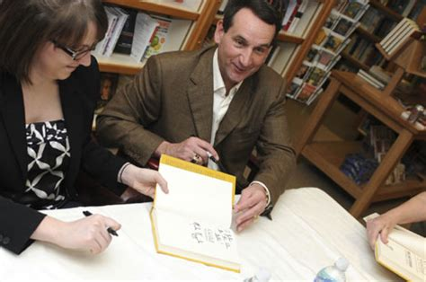 Randolph Duke Signing Of His New Book The Look by Duke In Pictures Book Signing With Coach K Duke Today