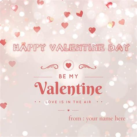 happy valentines day handsome write name on pics birthday cakes and wishes writenamepics