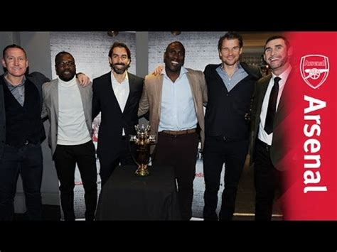 Damos Festivale Arsenal Legends arsenal legends were in attendance for the invincibles