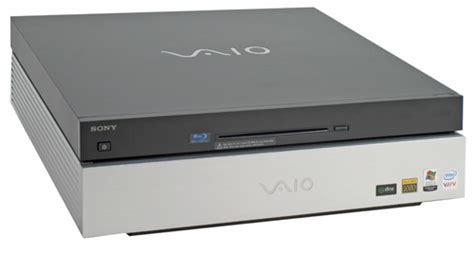 sony vaio vgx xl media center pc  blu ray drive review trusted reviews