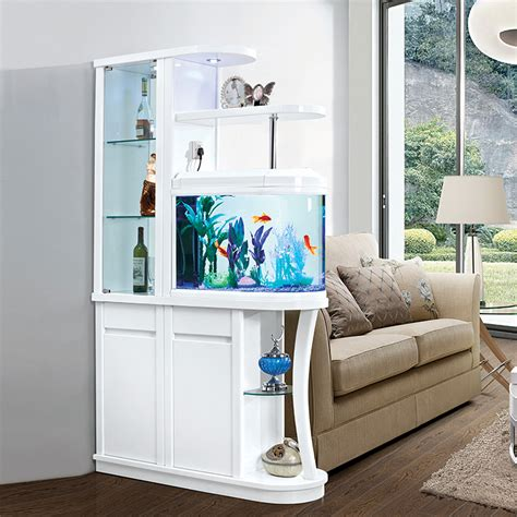 Meuble Separation Cuisine Salon 2050 meuble bar s 233 paration avec aquarium 1210 390 2050 mm salon