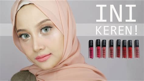 Lipstik Wardah Sepaket make matte lip review swatch test