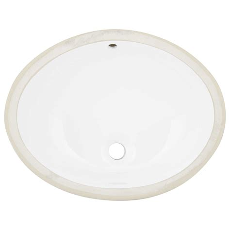 oval undermount bathroom sink 22 quot martius oval porcelain undermount bathroom sink