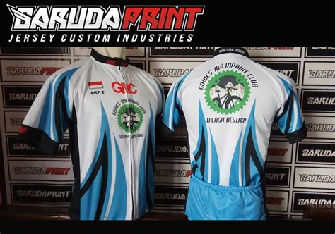 design kaos gowes portofolio hasil jadi jersey sepeda printing garuda