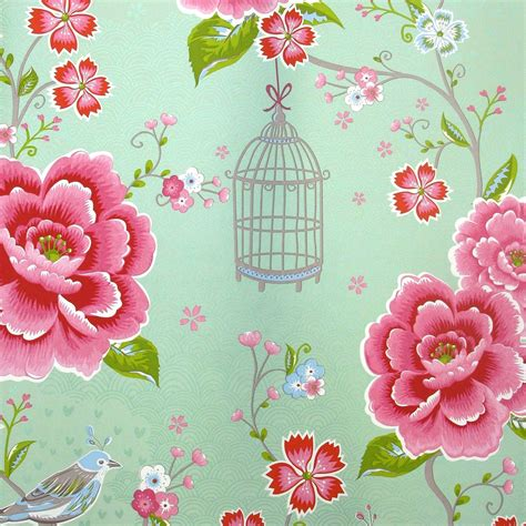mint colored lovely mint colored wallpaper quot birds in paradise green