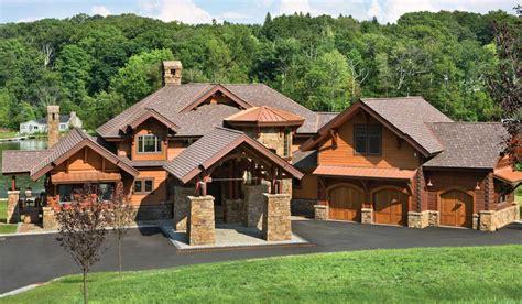 log home plans precisioncraft log homes timber frame dakota branchville new jersey hybrid timber home by precisioncraft
