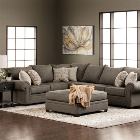 keaton sectional sofa keaton sectional laf sofa 1 arm raf sofa in gray