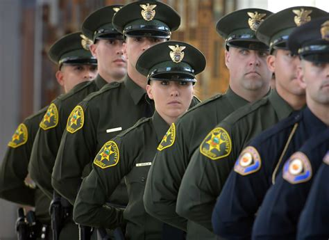 Orange County Sheriffs Office by The Badge Dozens Of New Officers Join Orange