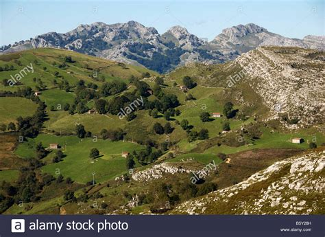 the mountains near santander in cantabria northern spain