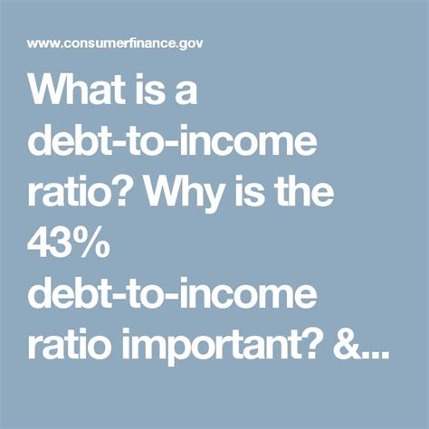 debt to income ratio to buy a house best 25 debt to income ratio ideas on pinterest best