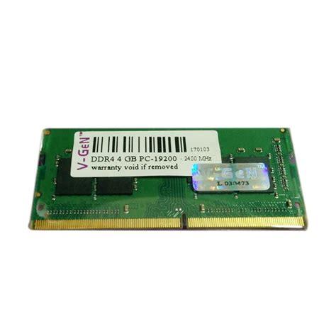 Ram Pc Vgen 4gb jual v sodimm ddr4 memory ram laptop 4gb pc19200