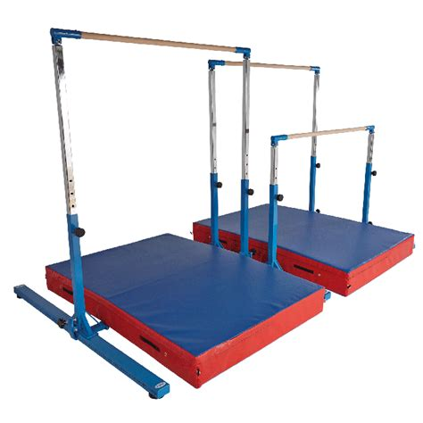 mini asymmetric bars teaching gymnastics fundamentals to