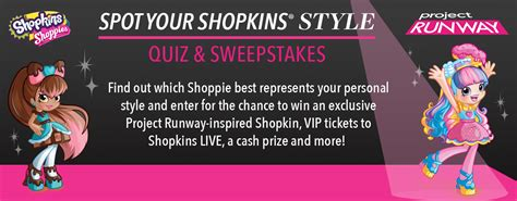 Project Runway Sweepstakes - project runway spot your shopkinsstyle sweepstakes