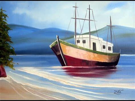 barco de bela dibujo como pintar um barco youtube