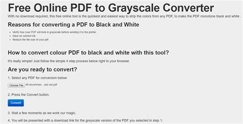 convert color pdf to black and white how to convert pdf to black and white