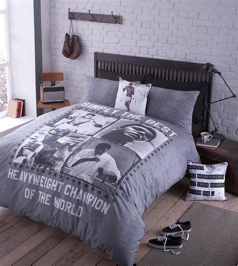 Muhammad Ali Bed muhammad ali duvet quilt cover bedding bed set bedlinen