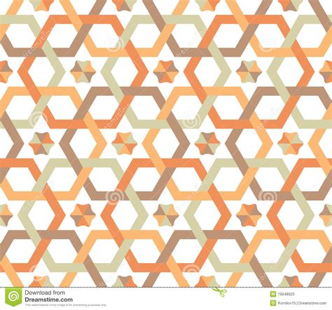 svg pattern overlapping overlapping hexagons seamless pattern stock vector