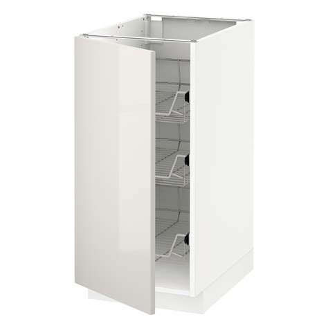 what if ikea runs out of cabinets during this year s metod base cabinet with wire baskets white ringhult light