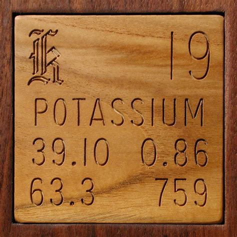 Potassium On The Periodic Table by Facts Pictures Stories About The Element Potassium In