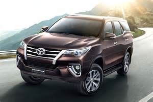 new fortuner car new toyota fortuner look car news suv