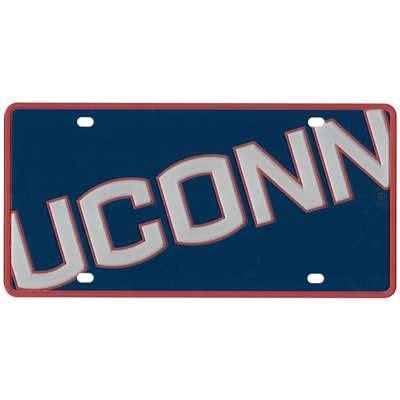 uconn colors uconn huskies color mega inlay license plate