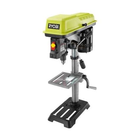 ryobi 10 in drill press with laser dp103l the home depot