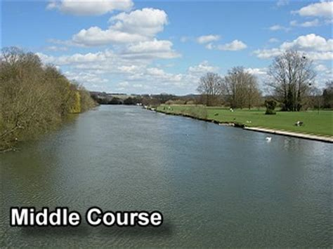 river thames upper course the stages of a river