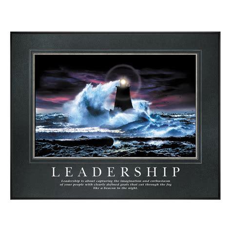 Poster Quotes Motivation Qm040 leadership lighthouse motivational poster all motivational posters by successories