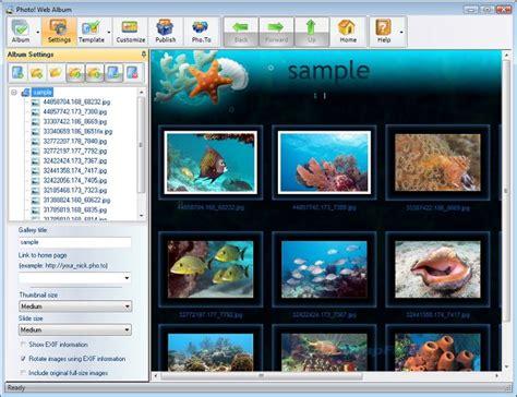 foto web photo album