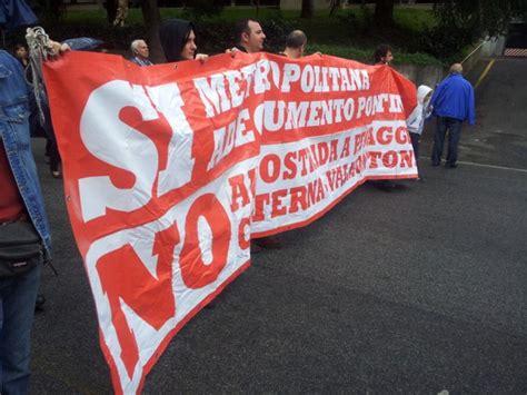 popolare lazio cisterna di foto corteo contro il quot corridoio quot roma 1 di 5