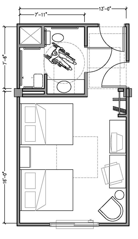 ada hotel room layout appendix a