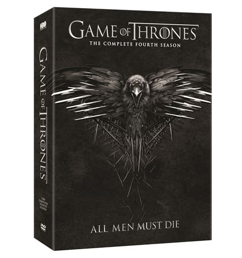 thrones coloring book release date of thrones complete fourth season dvd release