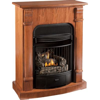 northern tool procom compact vent free dual fuel fireplace