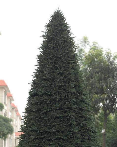 ginormous artificial christmas tree treetopia