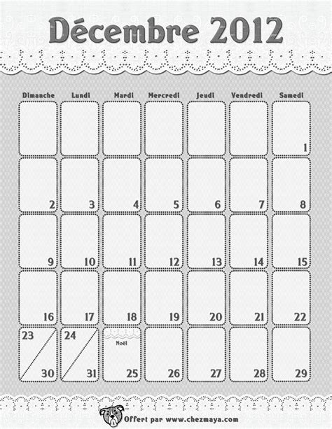 calendrier 224 imprimer chez