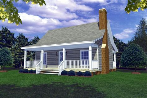 Houseplansandmore by Cottage Plan 600 Square Feet 1 Bedroom 1 Bathroom 348